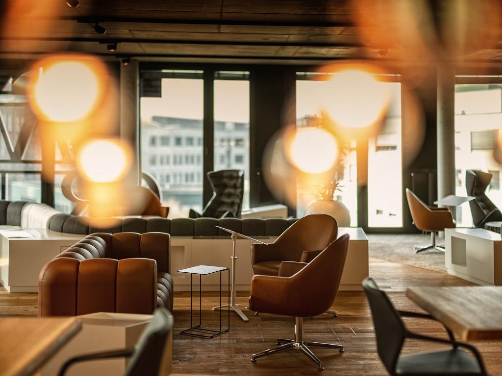 FUNKE Lounge für exklusive Veranstaltungen