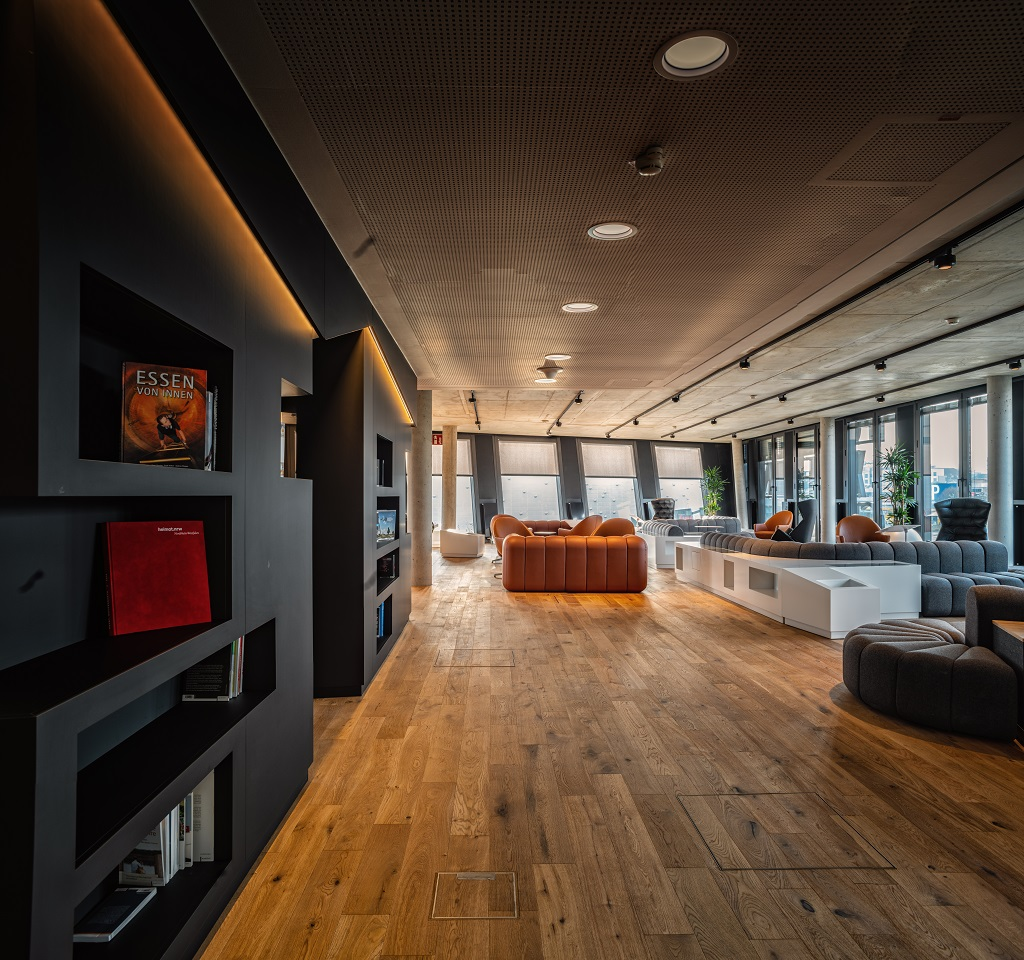 Die exklusive FUNKE Lounge des FUNKE Event-Center