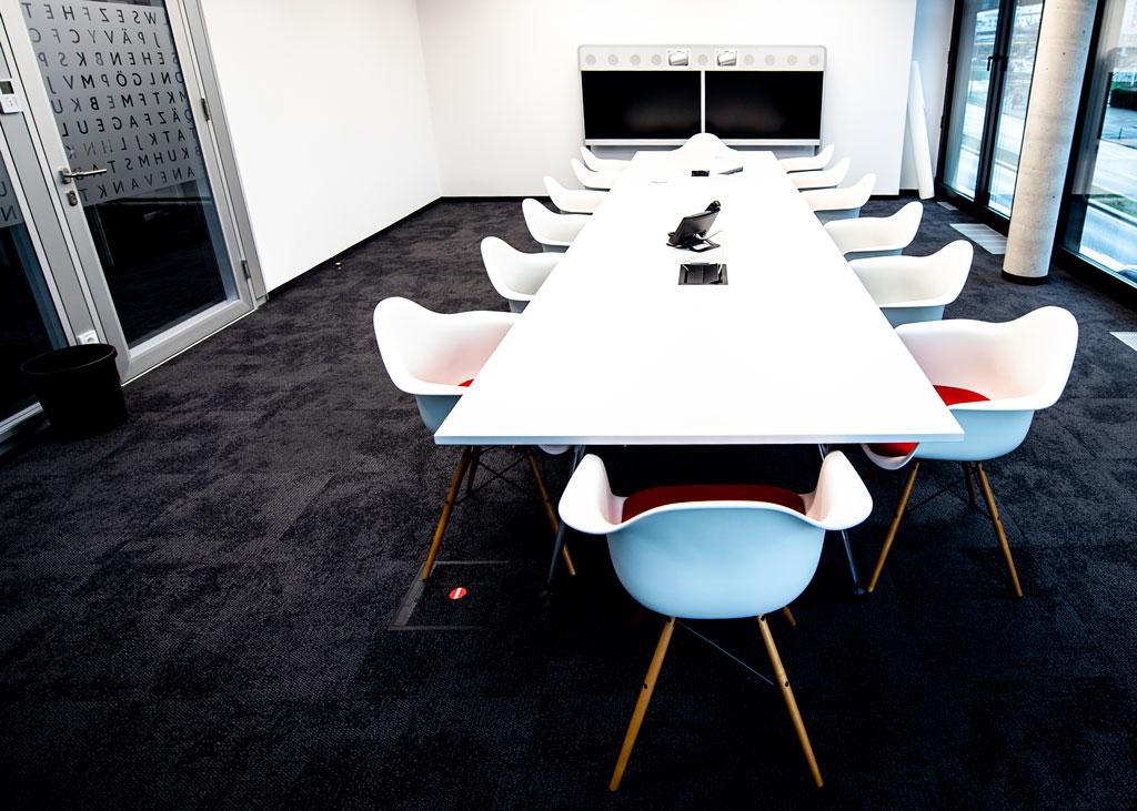 Konferenzräume mit Video Konferenz System mieten